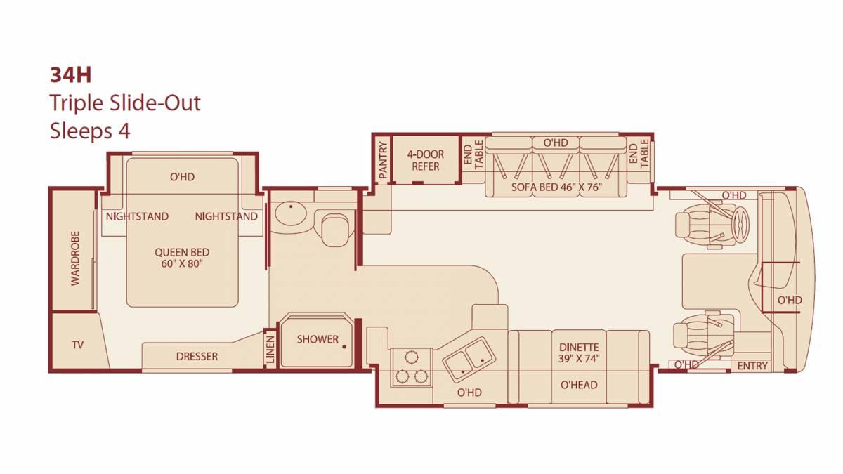 Fleetwood Rv Floor Plans Images 100 Wilderness