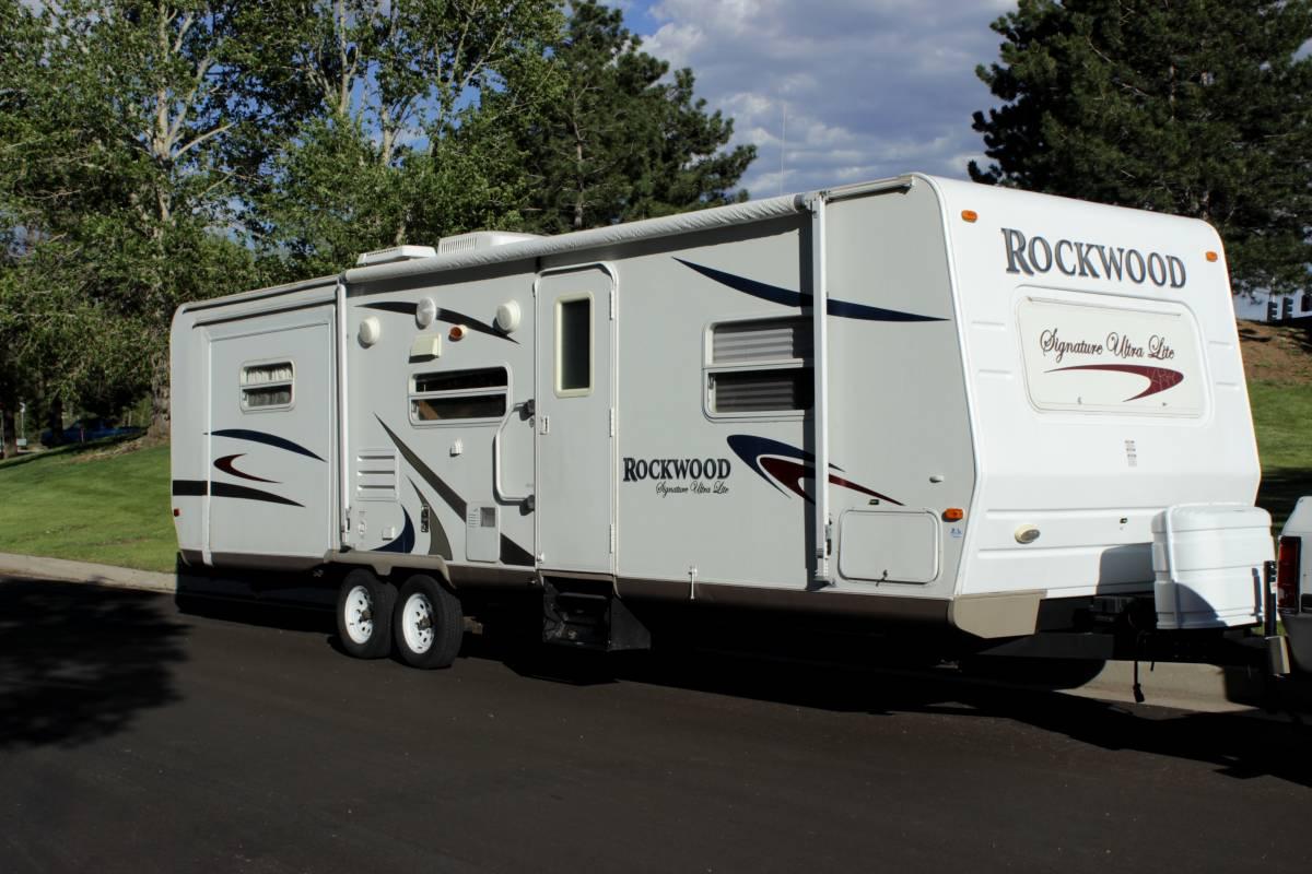 2007 Forest River Rockwood Ultralite Travel Trailer RV Rental